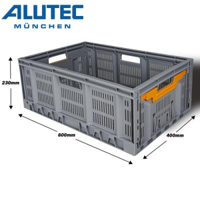 台灣總代理 德國ALUTEC-輕量摺疊收納籃 露營收納 工具收納 居家收納 (46L)
