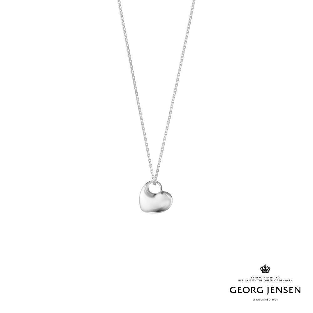 Georg Jensen 喬治傑生 純銀愛心項鍊(2021限定版)