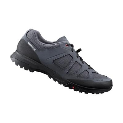 【SHIMANO】ET300 男款休閒平底車鞋 加大旅行鞋楦 灰色