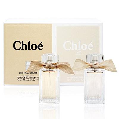 Chloe 同名/玫瑰之心女性淡香精20ml(2入組)