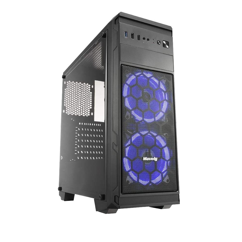 技嘉B360平台[凱旋白鯨]i7八核GT730獨顯電玩機