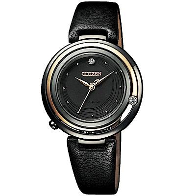 CITIZEN星辰100周年L系列永夜璀璨光動能腕錶(EM0659-17E)