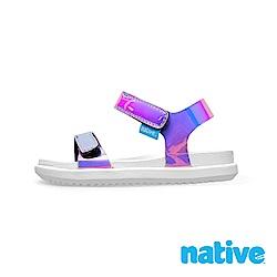native 小童鞋 CHARLEY 小查理涼鞋-雷射粉x貝殼白