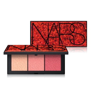 NARS 2019聖誕限量 狂歡熱潮3色頰彩盤 3.5gx3色