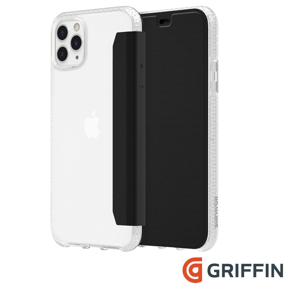Griffin Clear Wallet iPhone 11 Pro Max 側翻保護套