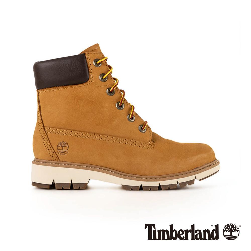 Timberland 女款小麥黃正絨面皮革LuciaWay靴|A1T6U @ Y!購物