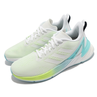 adidas 慢跑鞋 Response Super 運動 女鞋 海外限定 愛迪達 透氣 避震 健身 白 藍 FY8775