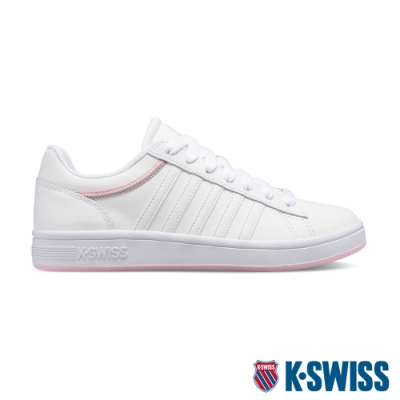 K-SWISS Court Winston時尚運動鞋-女-白/粉/灰