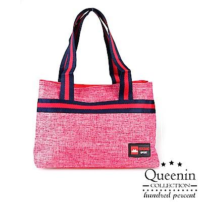 DF Queenin流行 - 簡約風潮羽量輕巧手提小方包-共3色