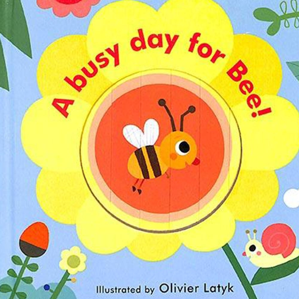Little Faces:A Busy Day For Bee! 變臉操作書:忙碌的小蜜蜂