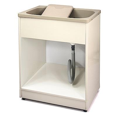 Aaronation 新型開放式塑鋼洗衣槽 GU-A2011-無門
