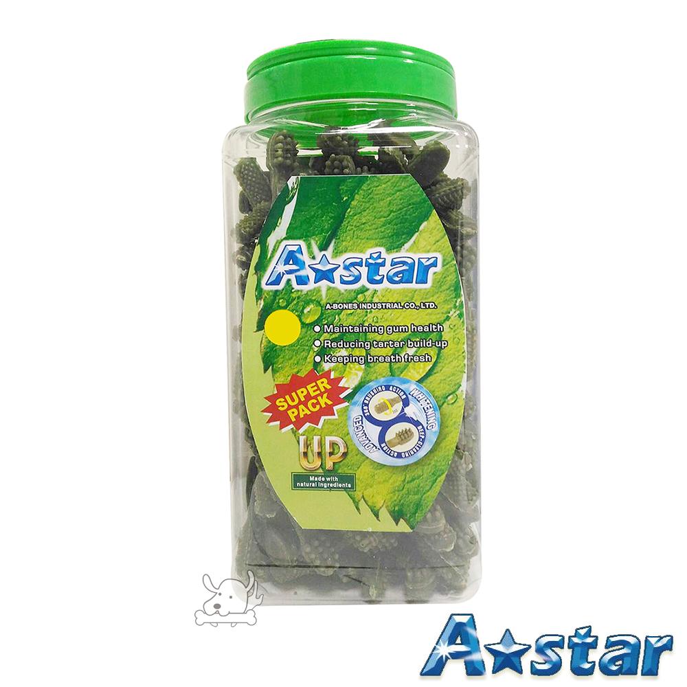 A Star Bones 草本配方 雙頭潔牙骨 超大桶裝 2000g X 1罐