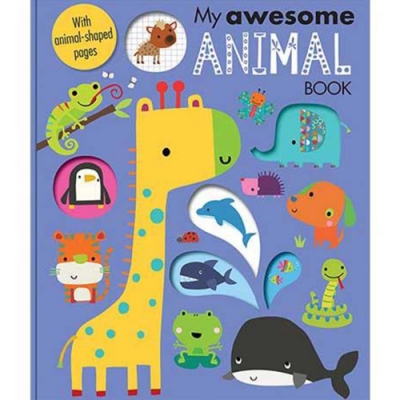 My Awesome Animal Book 我的動物趣味學習書