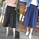 歐膩最愛!素面微打折寬褲裙(共三色) SISTERS product thumbnail 1