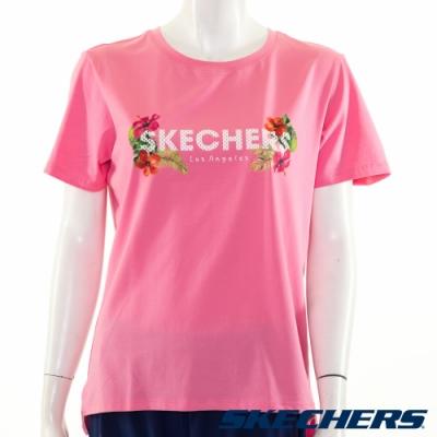 SKECHERS 女短袖衣 - L220W056-00GE