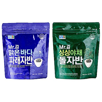 韓國 Mr.金 海苔酥 原味/蔬菜(60g)