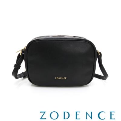 ZODENCE RELAX系列進口彩色牛皮橫式皮夾包 黑