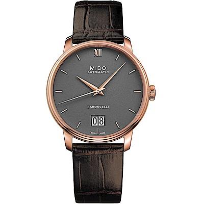 MIDO美度BARONCELLI永恆系列III經典機械腕錶(M0274263608800)