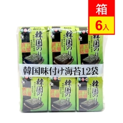 orionjako 韓國嚴選味付海苔(48g/袋)12入X6袋
