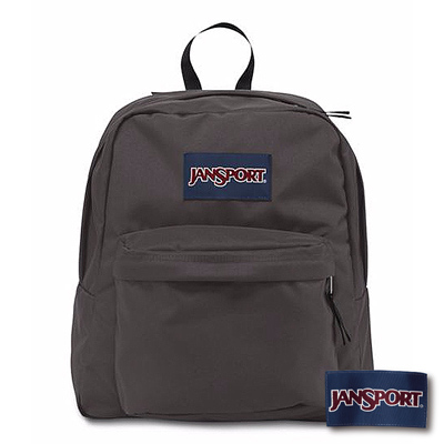 JanSport -SPRING BREAK系列後背包 -灰