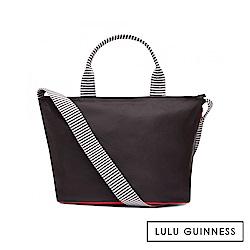 LULU GUINNESS LOLA 手提/側背包-小 (黑)