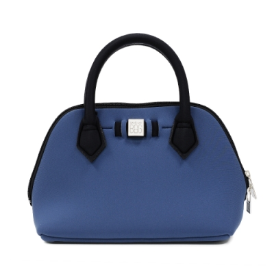 SAVE MY BAG 義大利品牌 PRINCESS MINI系列 鯨藍超輕量迷你手提包
