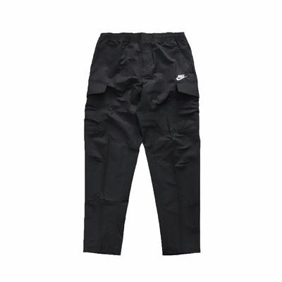 Nike 長褲 NSW Pants 運動休閒 男款 軍裝風格 抽繩 寬鬆隨興 穿搭推薦 黑 白 DD5208-010