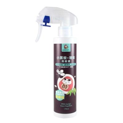 【木酢達人】小黑蚊斑蚊專用防蚊液170ml