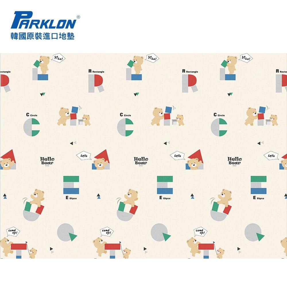 Parklon 韓國帕龍無毒地墊 - 單面切邊 (小熊積木)