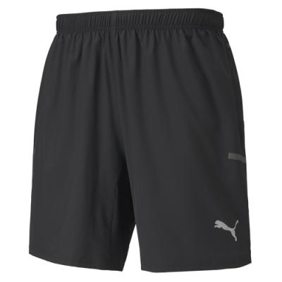 PUMA-男性慢跑系列Runner ID 7吋短風褲-黑色-歐規
