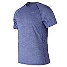 New Balance 短袖上衣 AMT81095TRY 男性 藍色