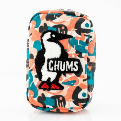 CHUMS Vertical Pouch Sweat 收納包 Booby 馬賽克 CH602809Z142