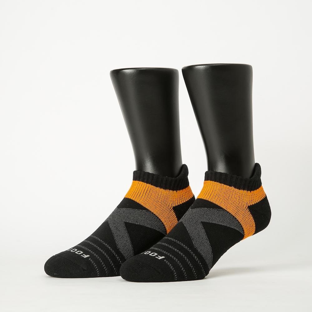 Footer除臭襪-X型雙向減壓足弓船短襪-六雙入(黑*2+深灰*2+紅*2)