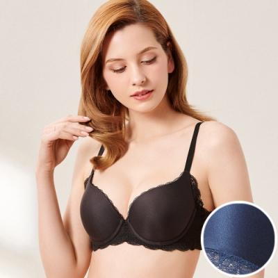 黛安芬-舒適美型超彈舒柔系列 B-C罩杯內衣 海洋藍