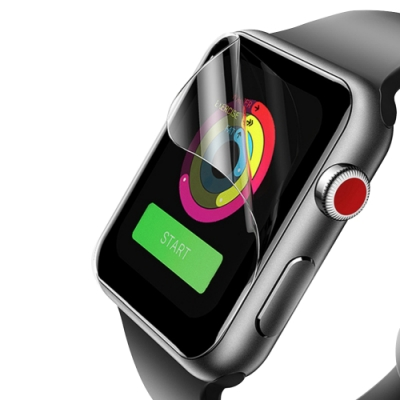 Apple watch 42mm 透明水凝膜保護貼