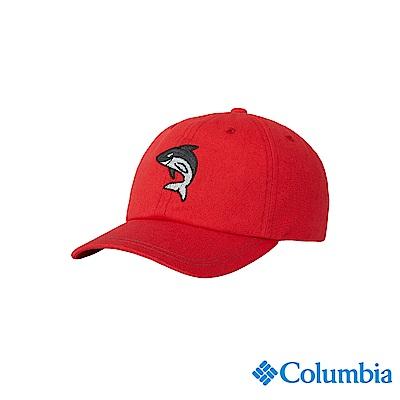 Columbia 哥倫比亞 兒童-UPF50棒球帽-紅色 UCY00740RDFDS