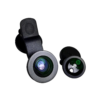 SAMSUNG 三星原廠 ITFIT 外掛鏡頭組 (0.6倍廣角鏡+15倍微距鏡+魚眼鏡)