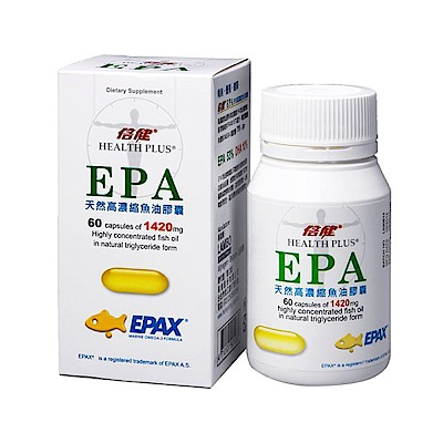 倍健 EPA天然高濃縮魚油膠囊 60粒