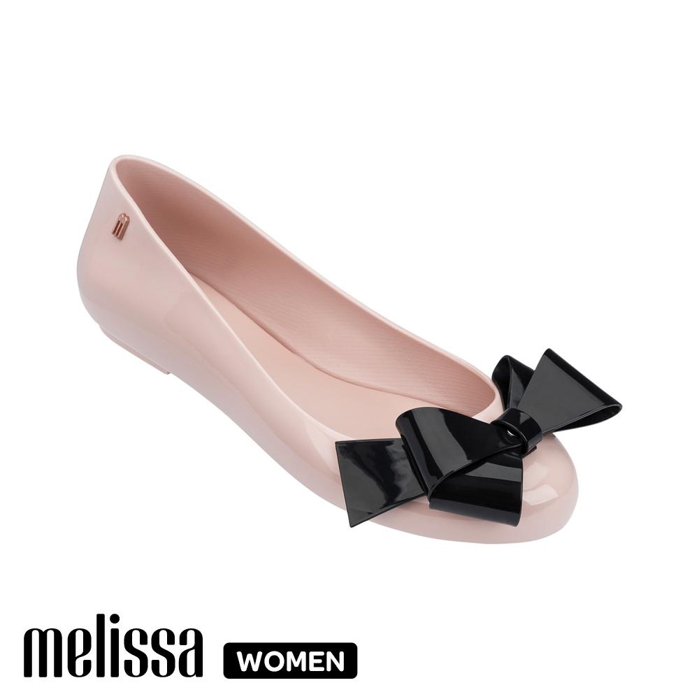 Melissa 經典蝴蝶結娃娃鞋 粉