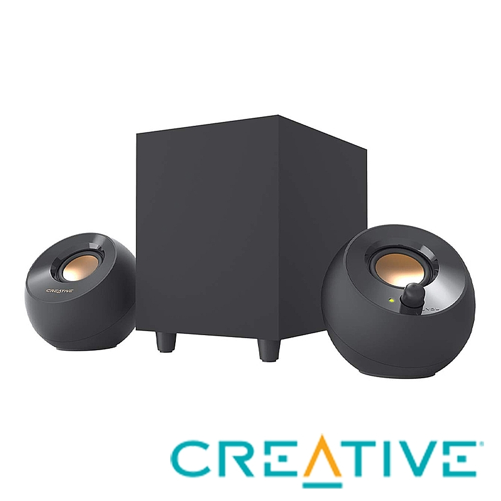 CREATIVE PEBBLE PLUS 2.1 USB 桌面喇叭