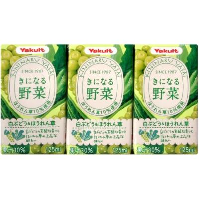 Yakult Yakult野菜汁-白葡萄&波菜(375g)