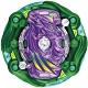 任選戰鬥陀螺 BURST#170-4 宇宙天馬.7.At  不含發射器 Vol.21 確定版 超王世代 TAKARA TOMY product thumbnail 1