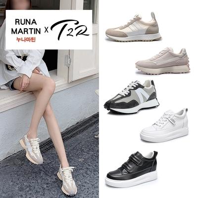 時時樂限定-正韓來台-Runa/T2R百搭休閒鞋-多款多色
