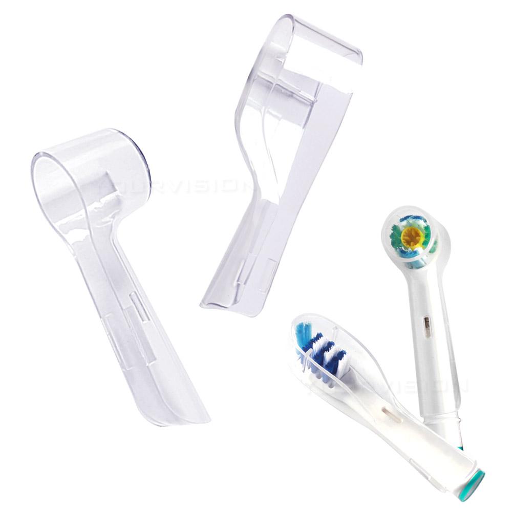 副廠 相容歐樂B 電動牙刷頭防塵蓋 保護蓋 刷頭蓋(圓型)3入+(長型)3入
