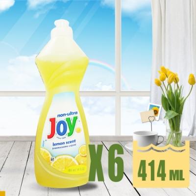 JOY 檸檬 濃縮 洗碗精 414ml (14oz) *6入