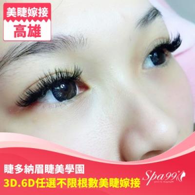 (高雄)迷人雙眼!客製化設計3D.6D任選不限根數美睫嫁接(睫多納眉睫美學園)