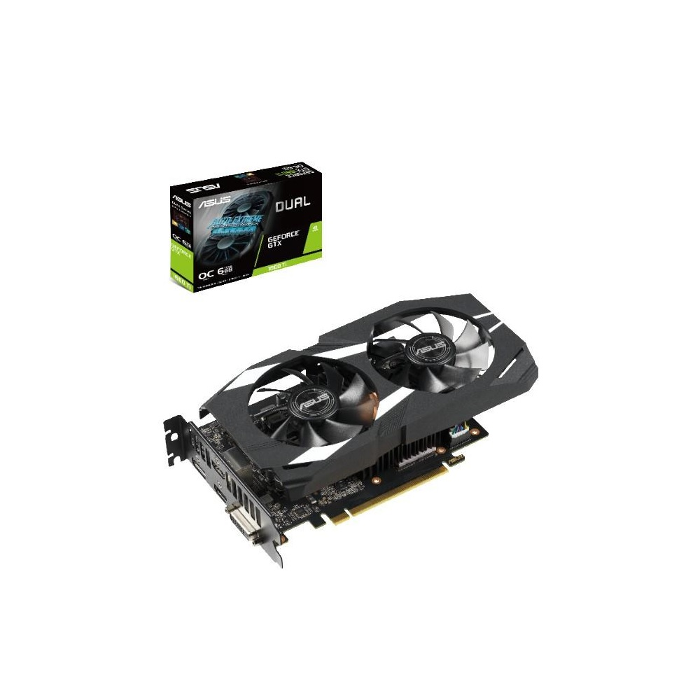 華碩 ASUS DUAL GeForce GTX™ 1660Ti O6G GAMING 顯示卡