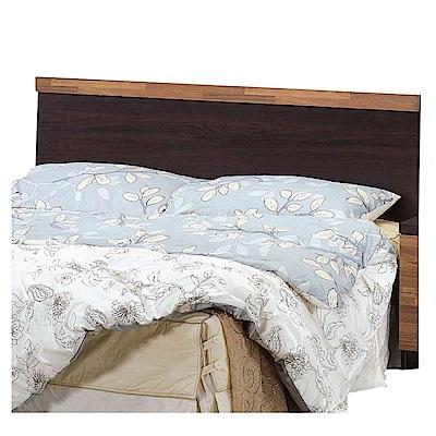 文創集 波哥利 時尚5尺雙人床頭片-151x4x91cm免組