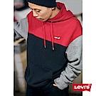 Levis 男款 重磅帽T 色塊拼接 徽章LOGO CNY限量系列