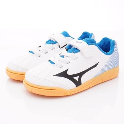 MIZUNO童鞋 止滑競速運動鞋款 ON96609白(中小童段)